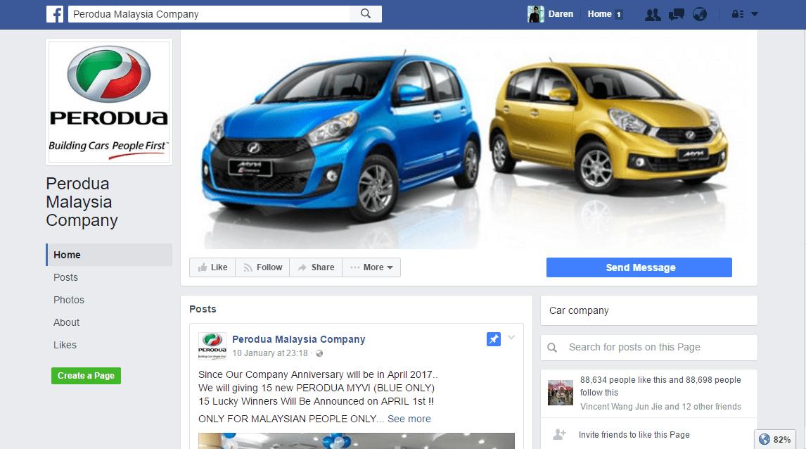 Perodua Spam