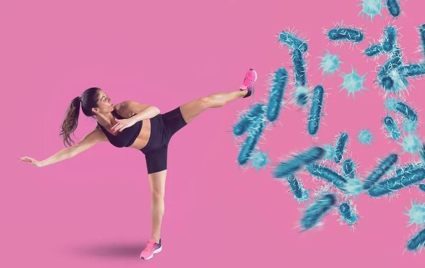Karate for Viruses: Coronavirus Immune System Protection