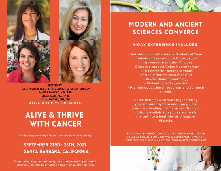 Cancer Workshop with Julia Loggins
