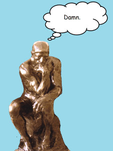 Thinker-damn