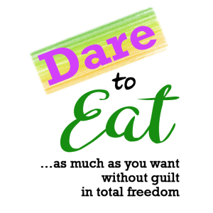 Dare to EAT Logo with Text