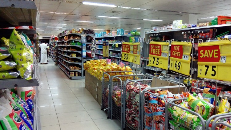 manufactured foods fill supermarkets