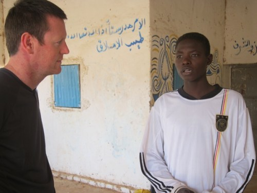 """Darfur United… """"Probably the best refugee team in the World!"""""""