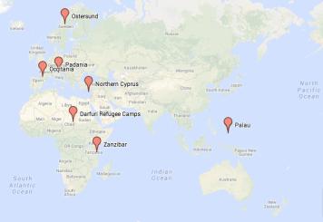 CONIFA YE Map