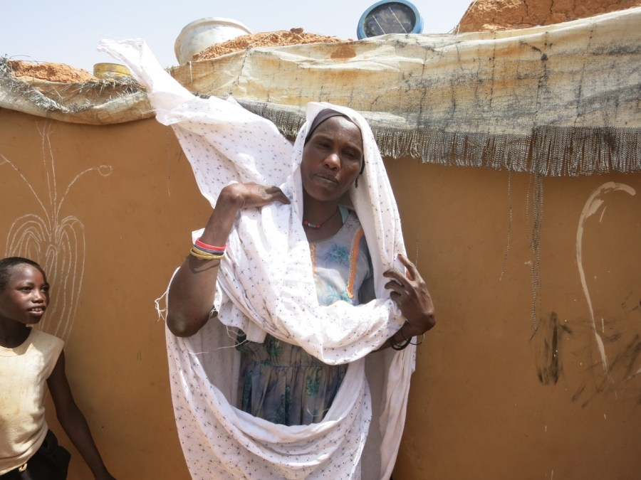 Darfur Refugee Family Portraits