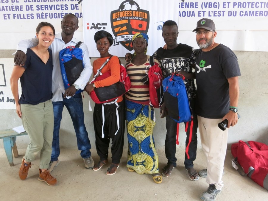 Meet the Coaches of Refugees United Soccer Academy – CAR!