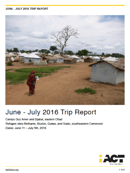 iACT Trip Report Available!