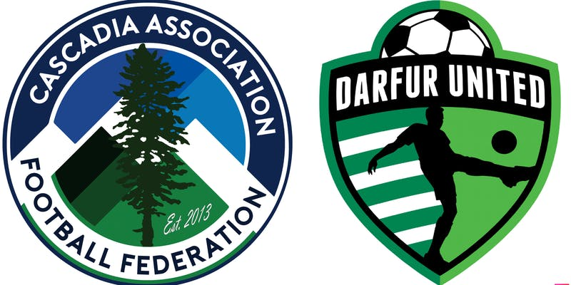 The Pacific's Cascadia to play Darfur United in first all-CONIFA Men's soccer match in North America