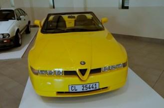 A Roadster Zagato Alfa Romeo. Love or hate it.