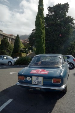 Parked up at UCT.