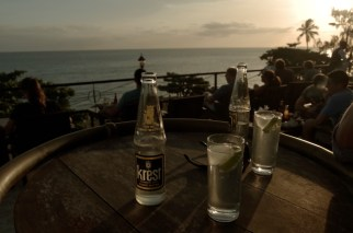 Sundowners at Africa House.