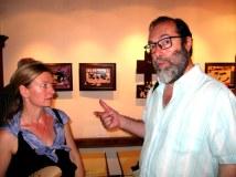 Valentina and the art expert Rumen Serafimov