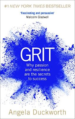 Book cover: 'Grit' by Angela Duckworth