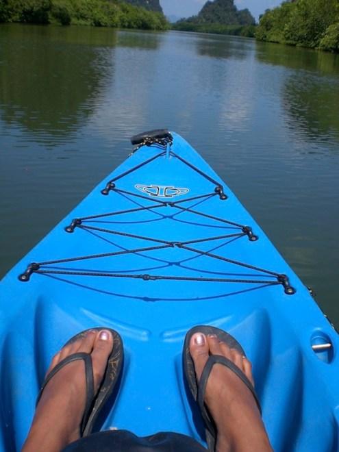 Me on the kayak