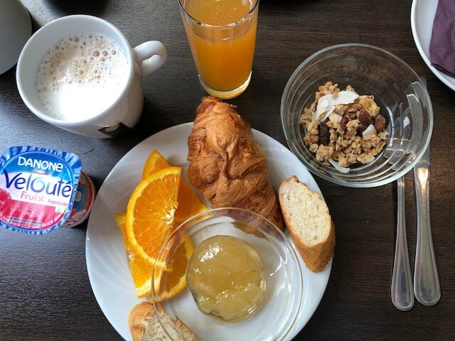 Breakfast Hotel Best Western New York Nice - Photo Diary | Citytrip naar Nice #1