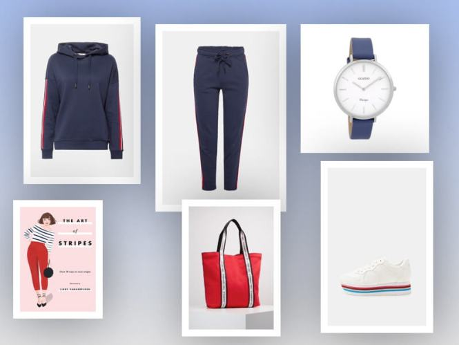Fashion Notes | Rood, wit & blauw