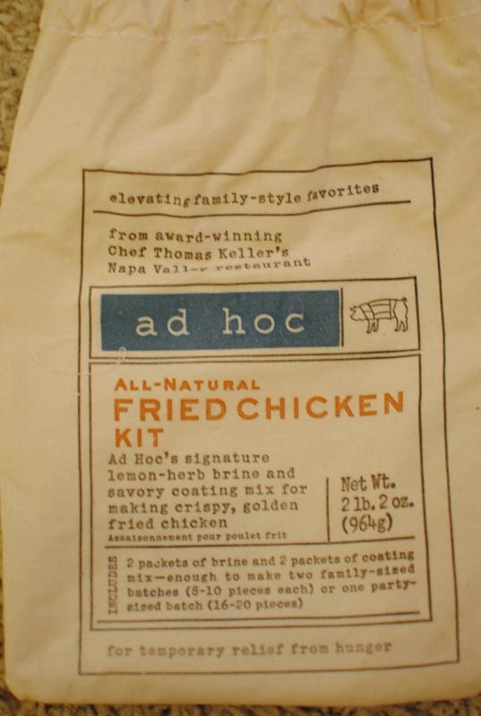 Ad Hoc Fried Chicken – 8/1/10