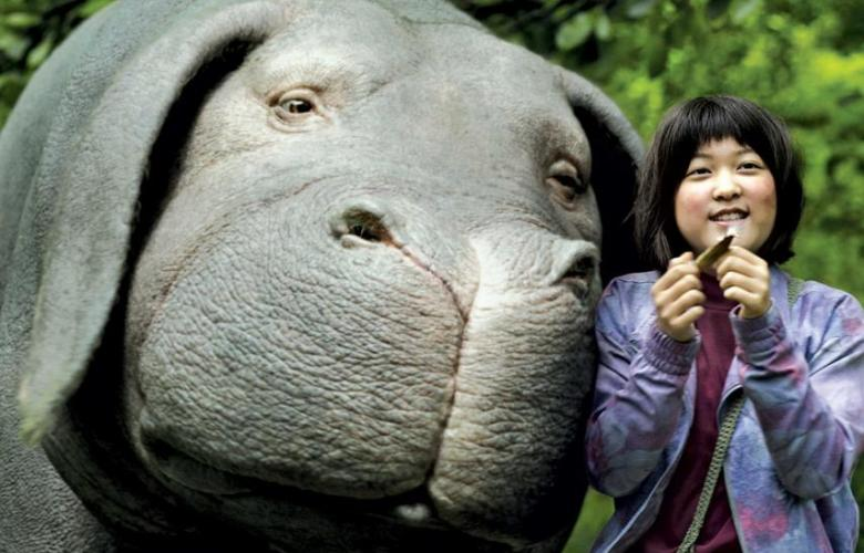 Okja Movie - Mija and Okja