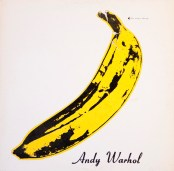 "This photo provided by Cranbrook Art Museum shows the cover of a 1967 Andy Warhol-designed album called ""The Velvet Underground and Nico."" The record will be among those on display starting Saturday, June 21, 2014, at an exhibition of Warhol's album covers at the museum in Bloomfield Hills, Mich.  (AP Photo/Andy Warhol Foundation for the Visual Arts/Sony Music Entertainment) NO SALES"