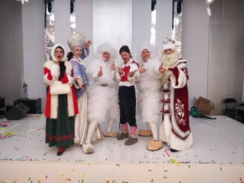 Дед Мороз и Снегурочка на корпоративе