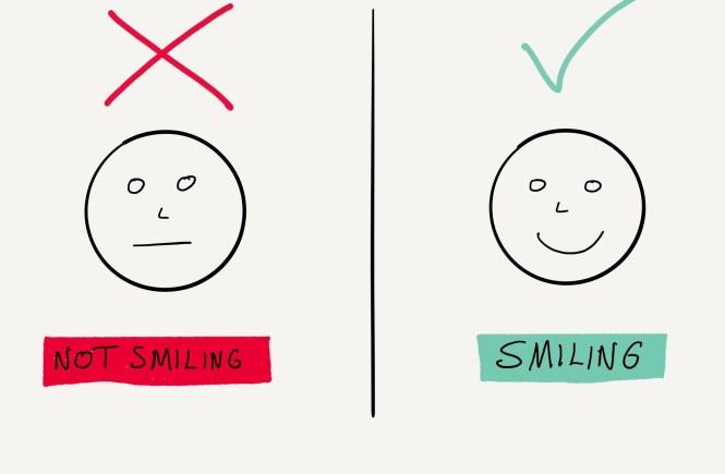 Happy life smile