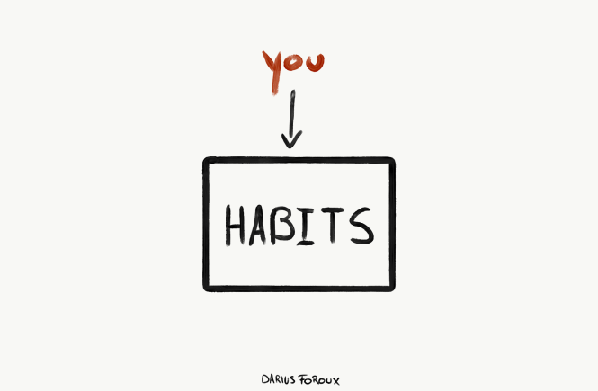 you are your habits