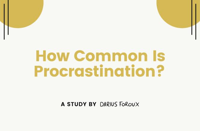 procrastination study