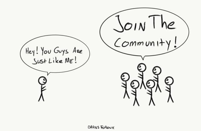 community darius foroux