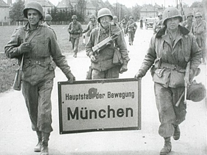 Munich 1945 sign
