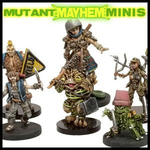 mutant mayhem minis