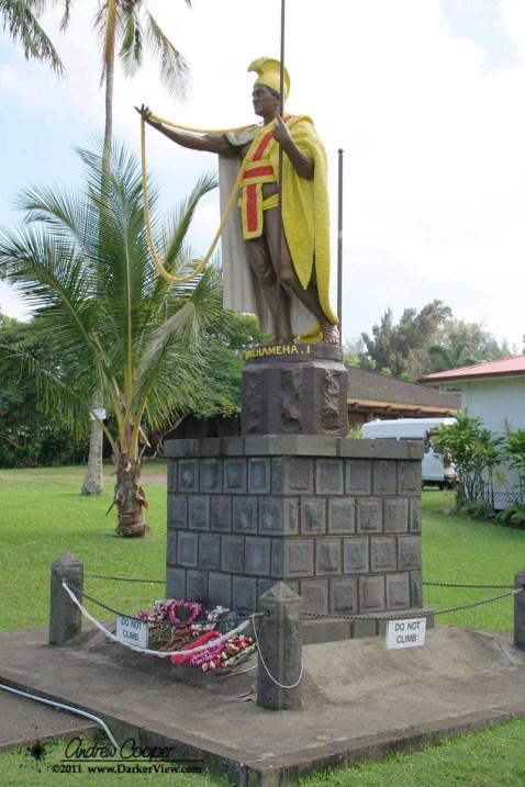 The original Kamehameha status in Kapa'au