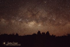 MIlky Way over A'a