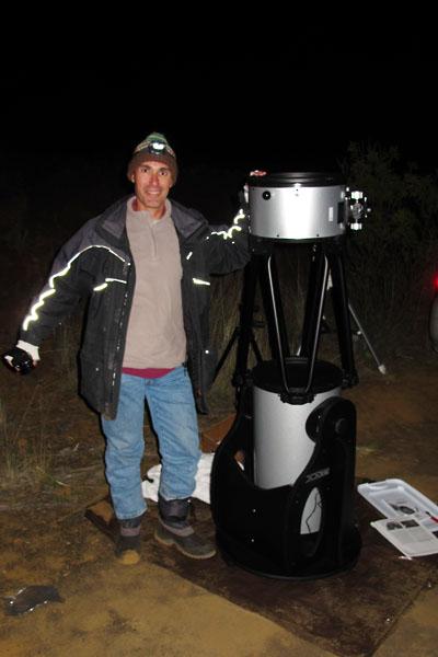 New Telescope Happy