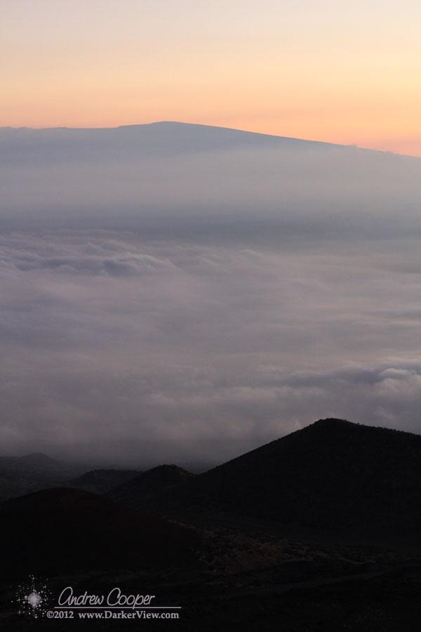 Mauna Loa in the Haze