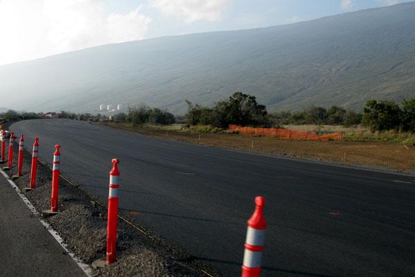 Saddle Road Rebuilding