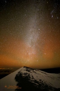 Summit and Winter Milky Way
