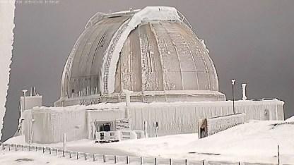 IRTF Under Ice