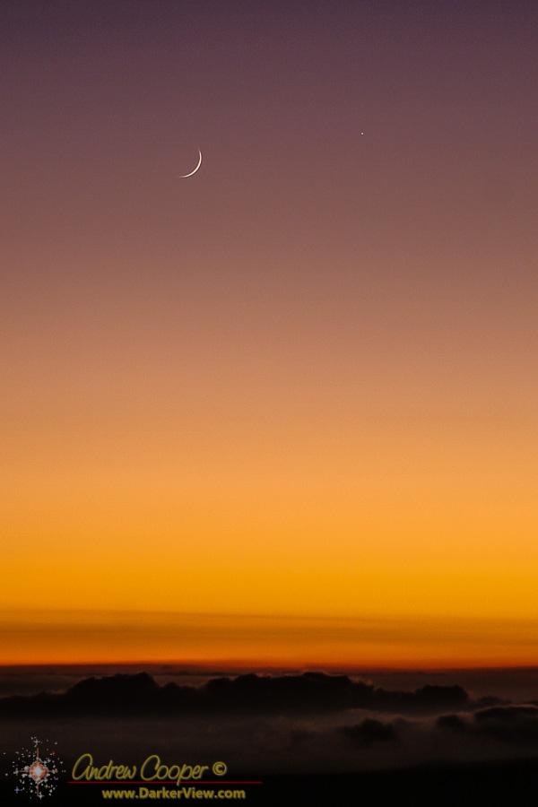 Moon and Mercury