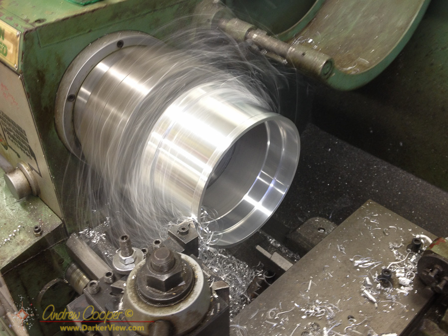 Machining the Mirror Cell
