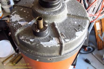 Orange Tube Corrosion