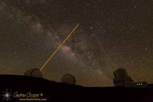 Lasers Across the Milky Way