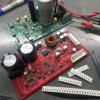 A redesigned small signal PCB for an Inland Motor FCU-100-30 amplifier power supply