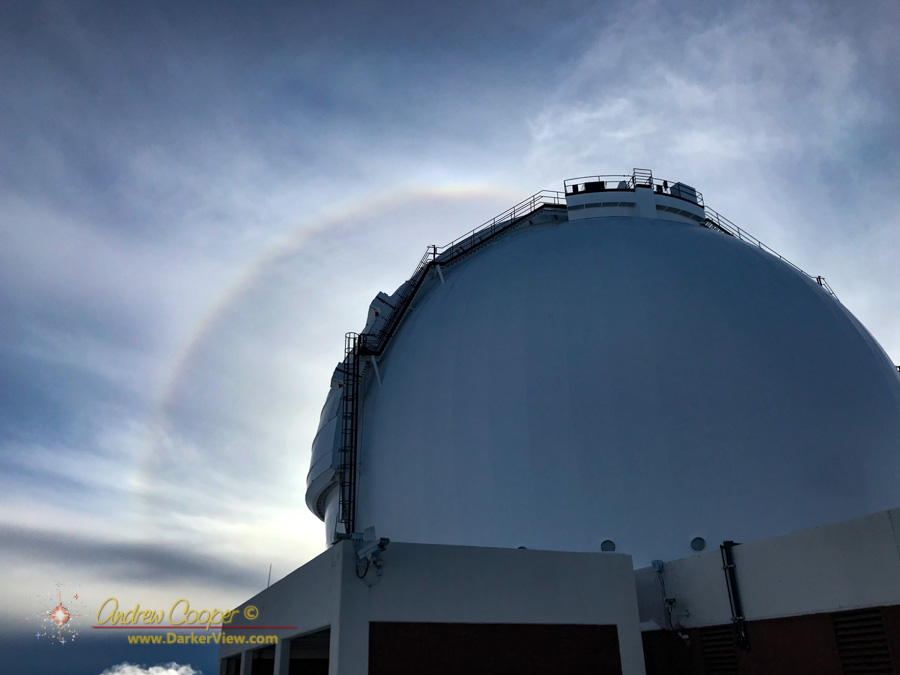 22° Halo over Keck1
