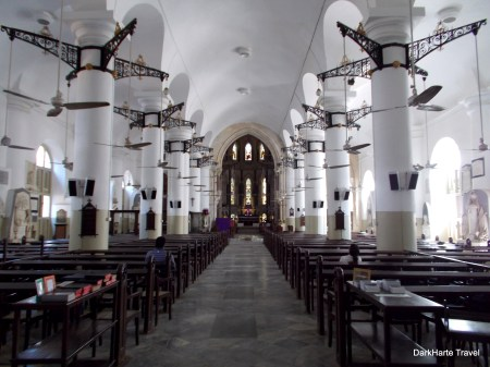 Interior of church in Fort Mumbai