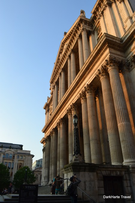 Evening light on St Pauls