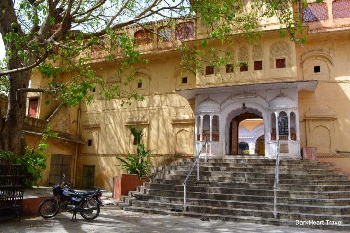 Temple steps, Jaipur