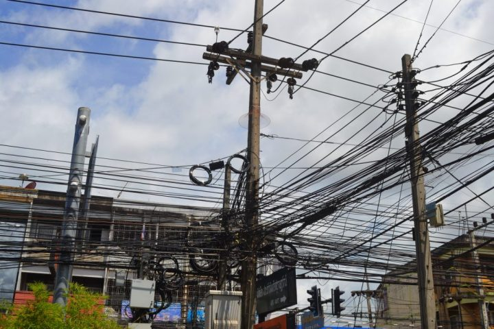 Wires in Surat Thani