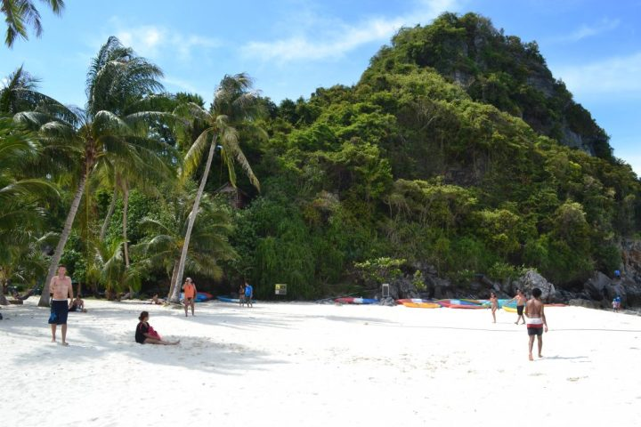 beach at Ang Thong