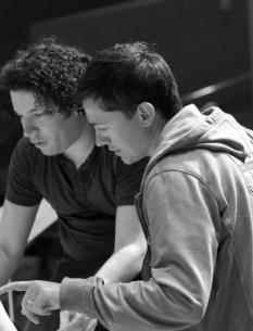 with Gustavo Dudamel, 2011.July @ LA
