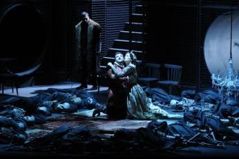 Alexander as Lanceotto Malatesta,Evgeny Liberman as Paolo,Gelena Gaskarova as Francesca
